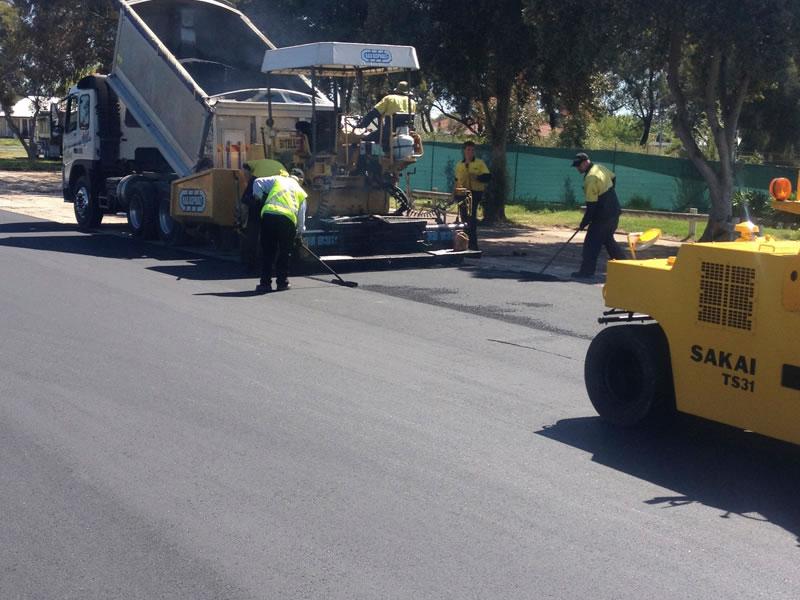 Asphalt Road reseal