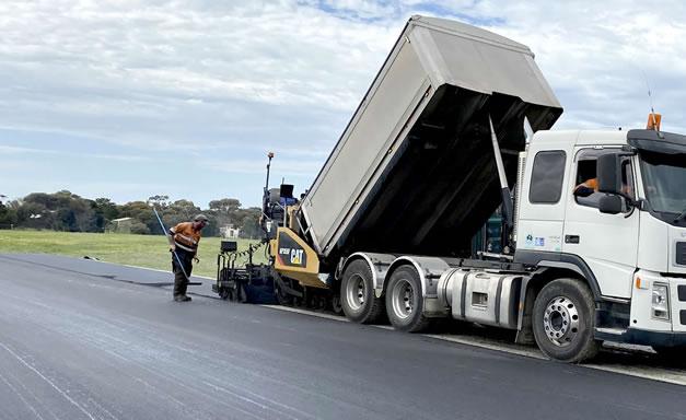 Commercial asphalt project