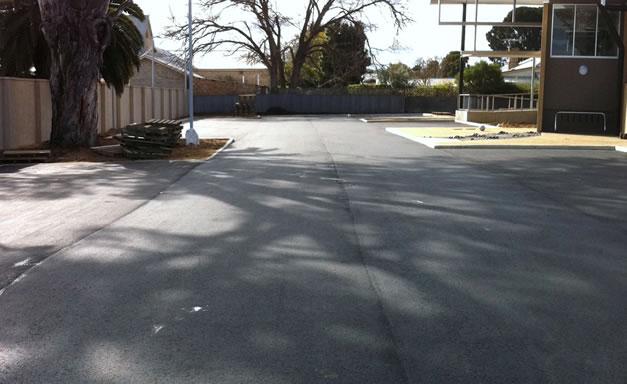 New commercial asphalt carpark in Adelaide suburbs