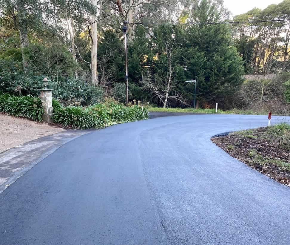Adelaide Hills Council - asphalt resurface