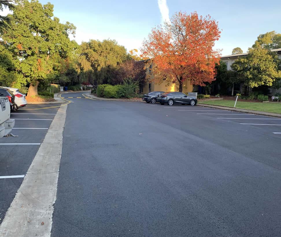 Adelaide commercial car park asphalt resurfacing